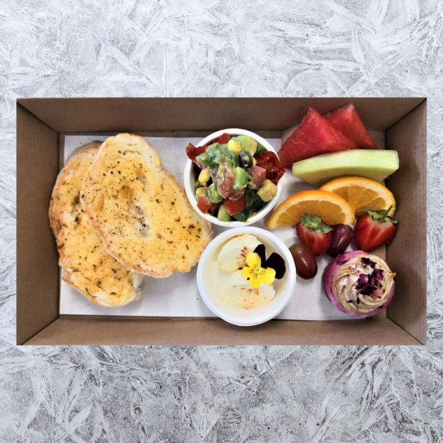 Gluten Free Open Sandwich Box