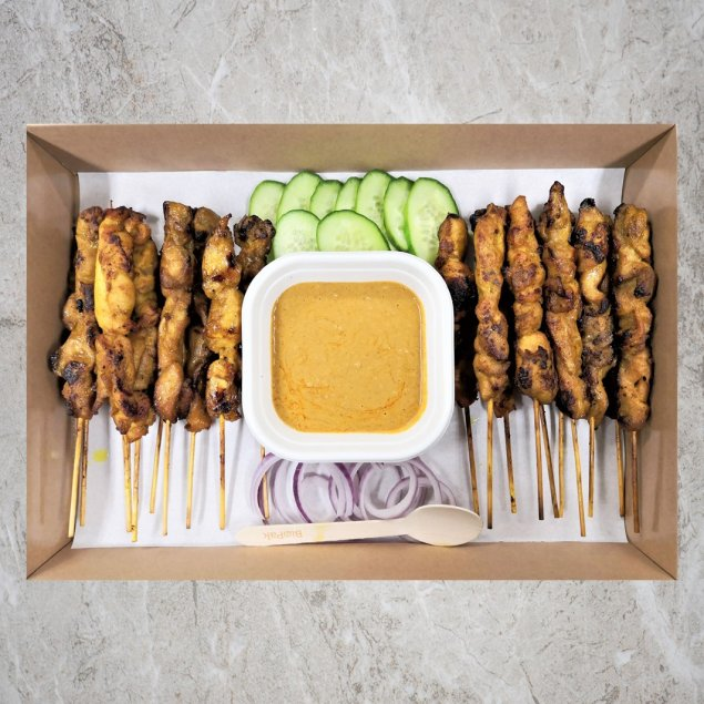 Chicken Satay Platter