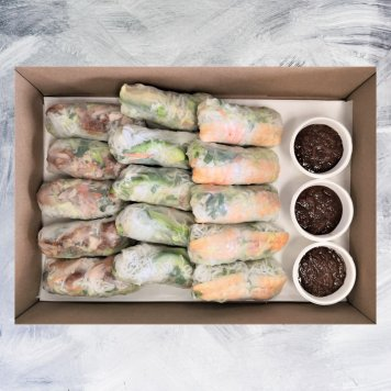 Mixed Rice Paper Roll Collection (15pcs)