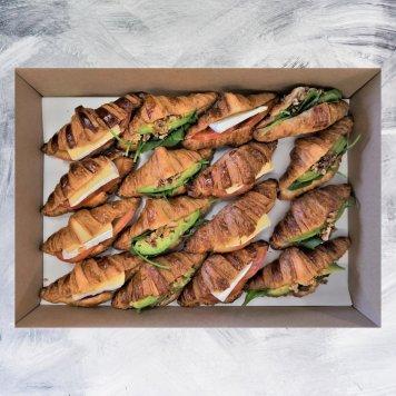 Vegetarian Croissant Platter