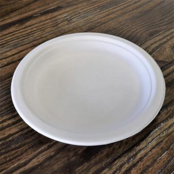 "7"" Round Disposable Plate"
