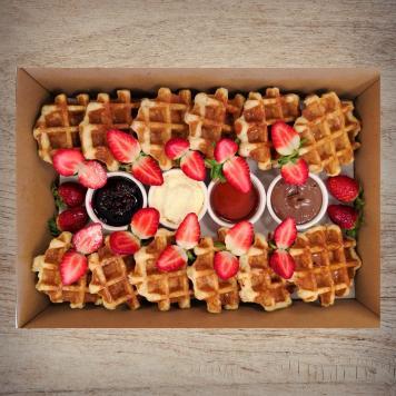 Strawberries 'n' Waffles