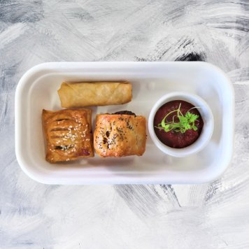 Finger Food Tea Box